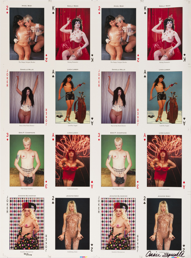 Pleasure activist Playing cards 4 ou 1