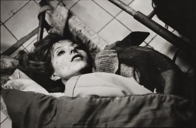 a-young-woman-killed-in-a-mortar-bomb-attack-kosovo-hospital-mortuary-sarajevo-january-1994