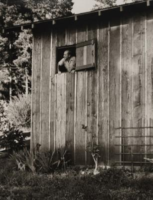 the-edward-weston-looking-out-of-his-darkroom-window-carmel-ca