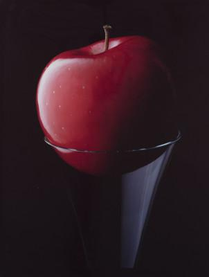 apple-and-glass